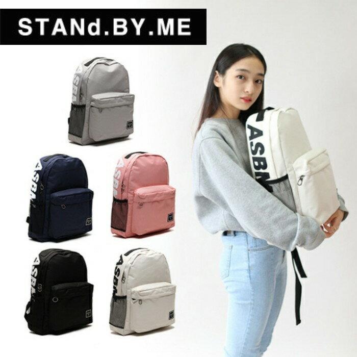 【獨家商品】後背包 韓國潮牌 STANd.BY.ME 151 大字母標誌背包 書包 電腦包