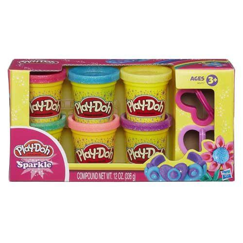 《Play - Doh 培樂多》閃亮黏土六色黏土組
