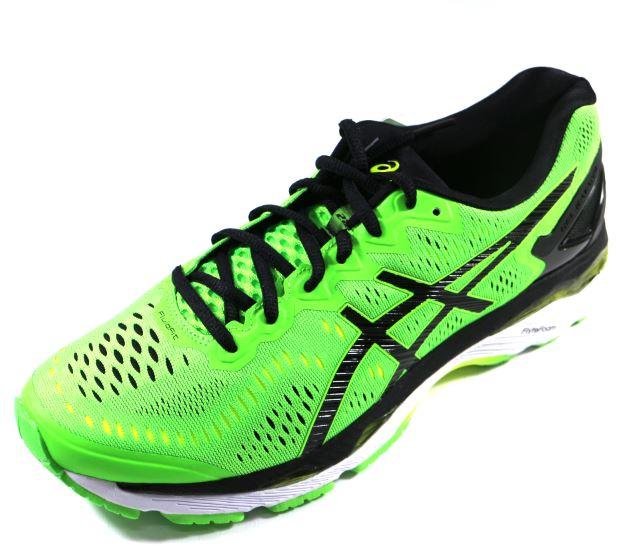 [陽光樂活] ASICS 亞瑟士 GEL-KAYANO 23 (男) 高支撐慢跑鞋 T646N-8590 綠
