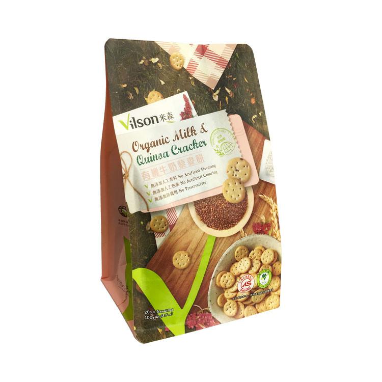 【米森Vilson】有機牛奶藜麥餅 (20g x5包)