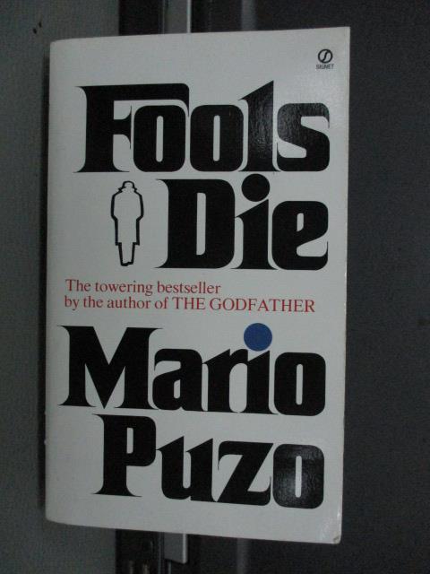 【書寶二手書T5/原文小說_MRY】Fools Die_Mario Puzo
