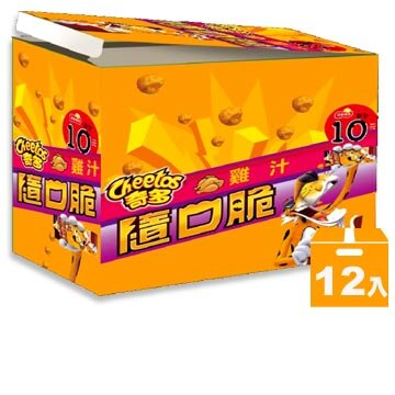 奇多隨口脆-家常起司/海苔/雞汁/玉米濃湯/微香辣(12入/盒)