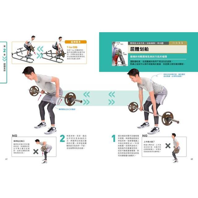 健身新手重訓攻略:槓片啞鈴×阻力帶×健身器材,新手必學的五大重訓,教你正確施力、精準增肌 7
