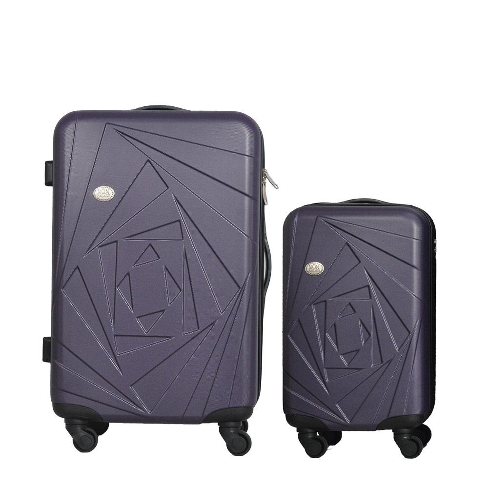 Mon Bagage 巴黎風情系列ABS輕硬殼 28寸 20寸 兩件組 旅行箱 行李箱 5