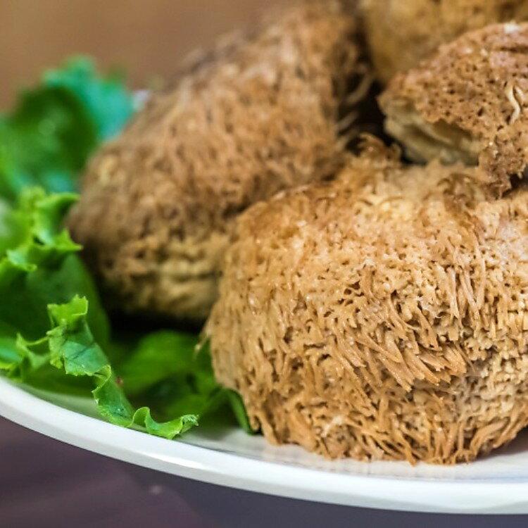 原味猴頭菇600g/包(蛋素)中國四大名菜之一  菌肉鮮嫩