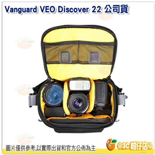 精嘉 VANGUARD VEO DISCOVER 22 公司貨 側背包 攝影側背包 附雨罩 迷你平板 相機包 1