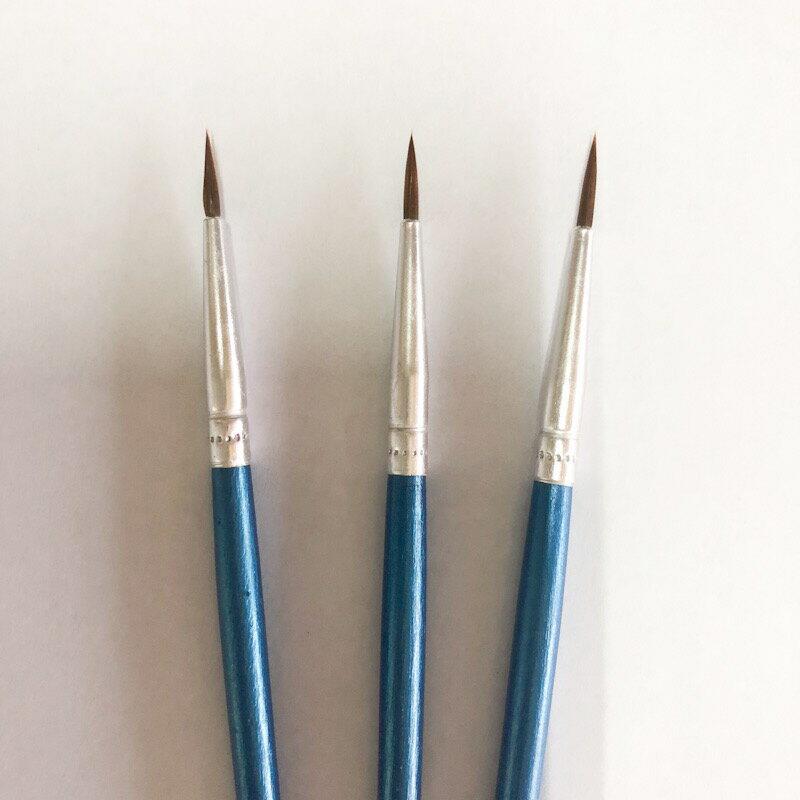 極細筆刷 勾線筆 劃線筆 漆筆 勾勒筆 補色 油漆 繪畫 粘膠水 畫線條 油老爺快速出貨