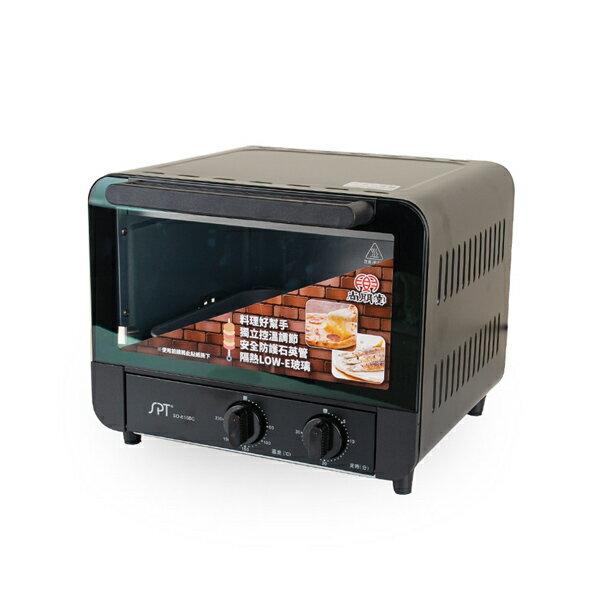 尚朋堂 雙旋鈕控溫 15L烤箱 / 台 SO-815BC