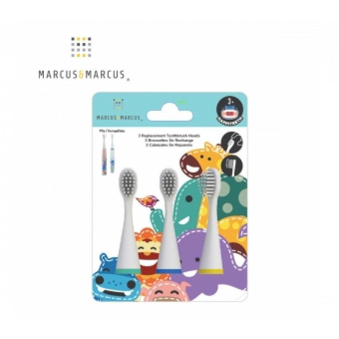 《 MARCUS&MARCUS 》兒童音波電動牙刷刷頭3入組 東喬精品百貨
