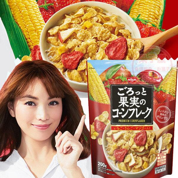 日清NISSIN早餐麥片200g 玉米脆片款  JP774