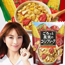 日本 日清NISSIN早餐麥片200g 玉米脆片款 [JP774]