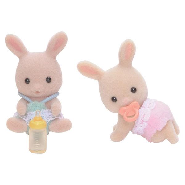 【 EPOCH 】森林家族 - 牛奶兔雙胞胎