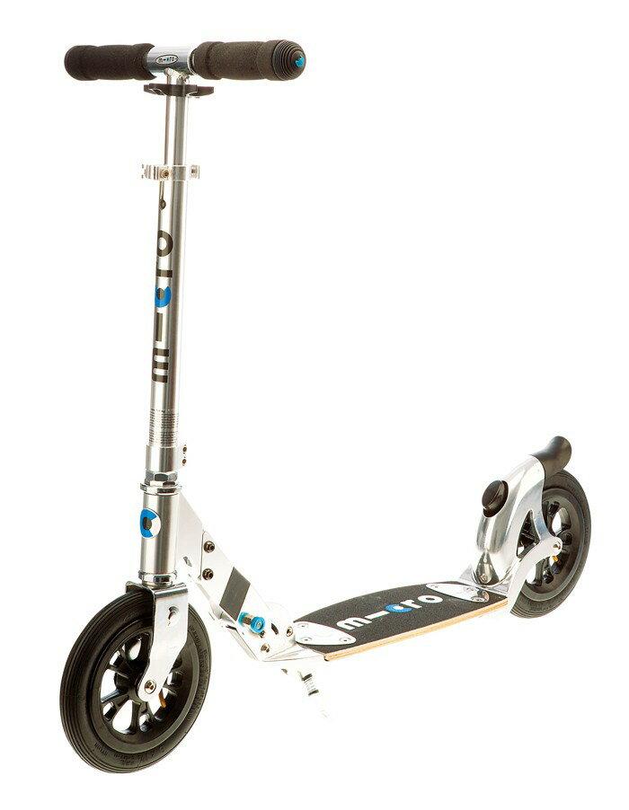 【淘氣寶寶】瑞士 Micro Scooter Flex Air 200mm 打氣胎滑板車 【適合年齡:青少年以上】