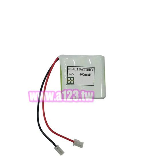 3.6V無線電話專用電池 電話電池 P-350 400mAh 萬用接頭 (2/3AAA*3顆)