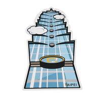 【MILU DESIGN】+PostCard>>台灣旅行明信片-台北地標/明信片(台北景點/建築/101/TAIPEI) 0
