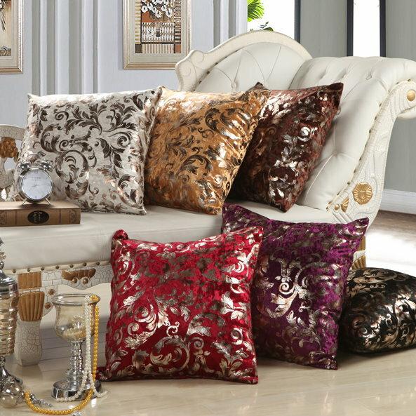 麻吉小舖:45*45歐式復古風居家抱枕套沙發靠墊