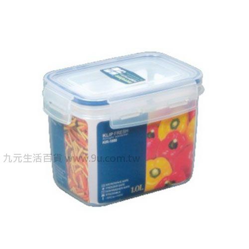 【九元生活百貨】聯府 KI-R1000 天廚長型保鮮盒 KIR1000