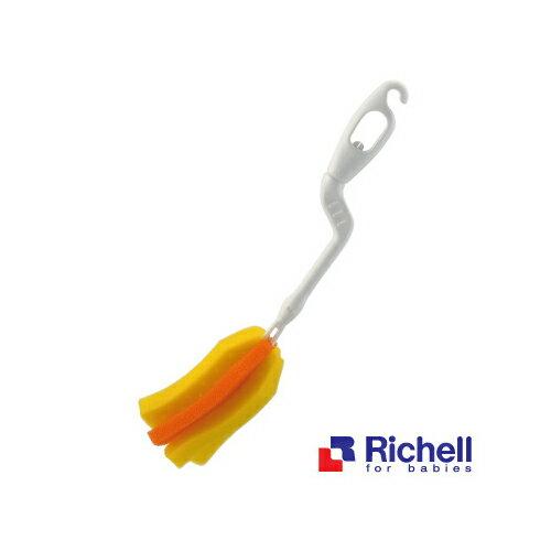 Richell利其爾 - 銀離子抗菌360度旋轉可拆式奶瓶刷