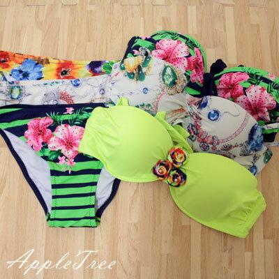 ★零碼四折售★AppleTree日韓-比基尼泳裝胸罩,泳褲款式任選【503049】