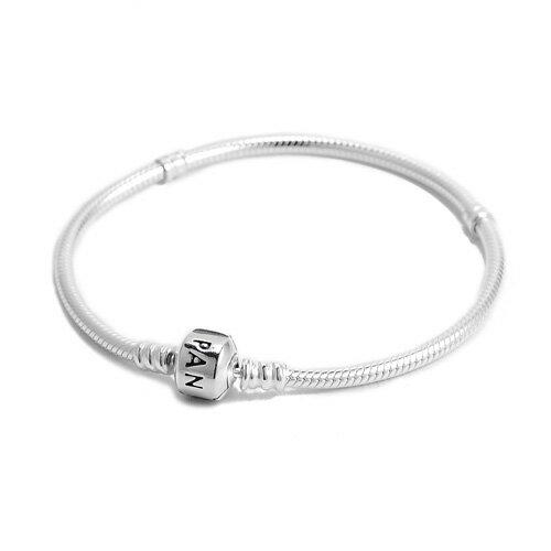 (Smile) Pandora 潘朵拉 經典925純銀手鍊手環