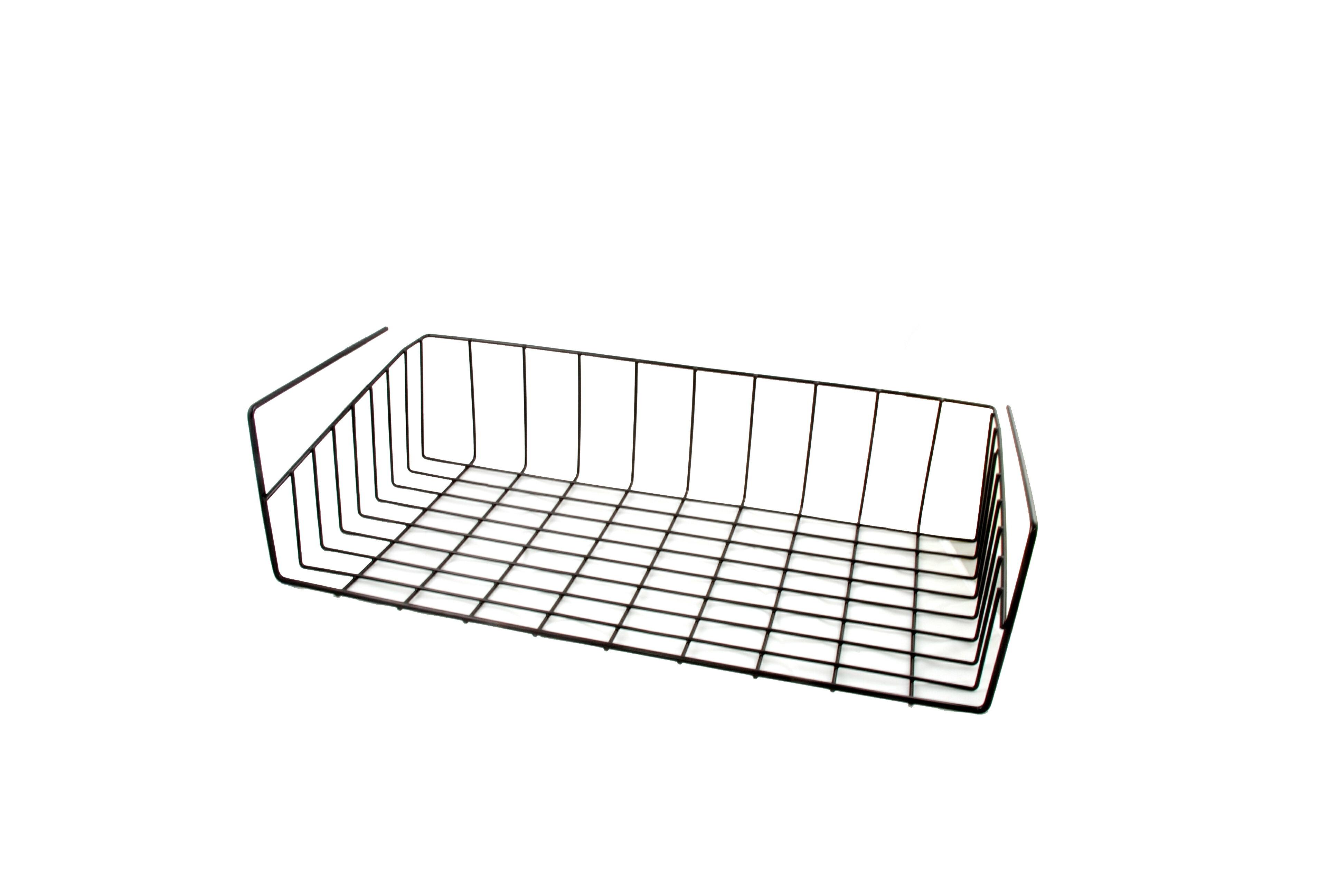 【凱樂絲】媽咪好幫手DIY櫃子鐵線收納籃(吊架式) - 小型, 垂直空間利用-組合式  廚房, 浴室, 客廳, 衣櫃, 櫥櫃適用 6