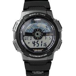 CASIO卡西歐 儀表板造型休閒運動膠錶 防水100米 有保固 柒彩年代【NEC85】原廠公司貨