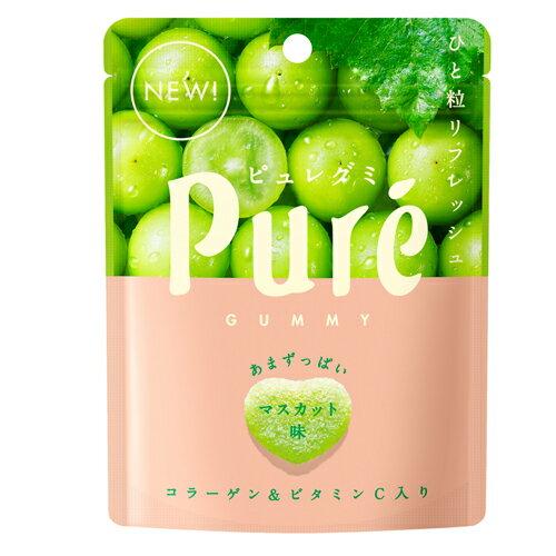 日本甘樂鮮果實軟糖-白葡萄45.5g【愛買】