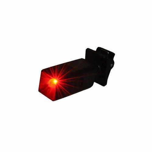 【新風尚潮流】迷你夾式 LED 閃爍紅光警示燈 閃爍燈 小夾燈 皮帶燈 自行車燈 工地燈 眼鏡燈 miniLED-RED
