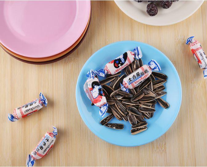 (隨機出貨)炫彩食品級塑料小碟子零食平底盤子小吃碟 9元 0