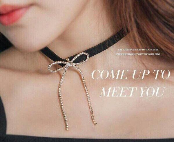 時尚圍脖項鍊(2)