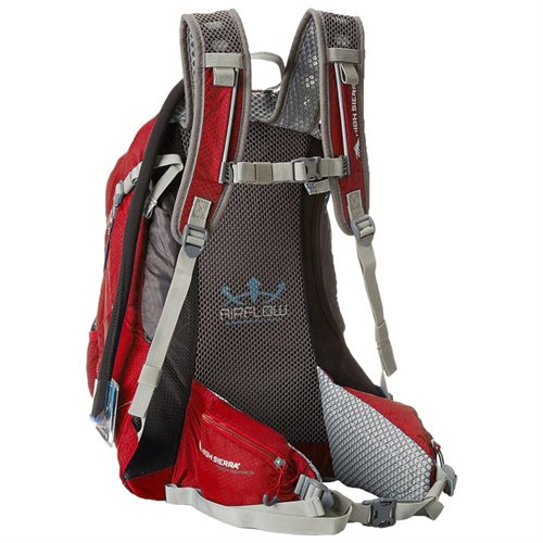 High Sierra Riptide 25 Hydration Pack - Red 1