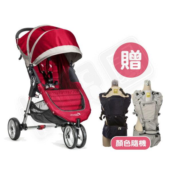Baby jogger - City mini 輕運動推車 - 紅【贈lillebaby Seat Me 座凳型揹巾】【悅兒園婦幼生活館】 0