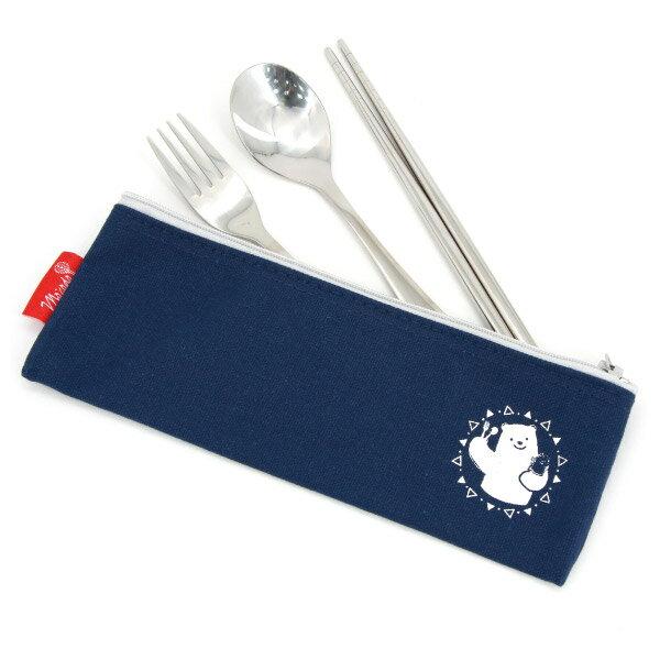 禾風漾藍餐具組 北極熊 NITORI宜得利家居 1