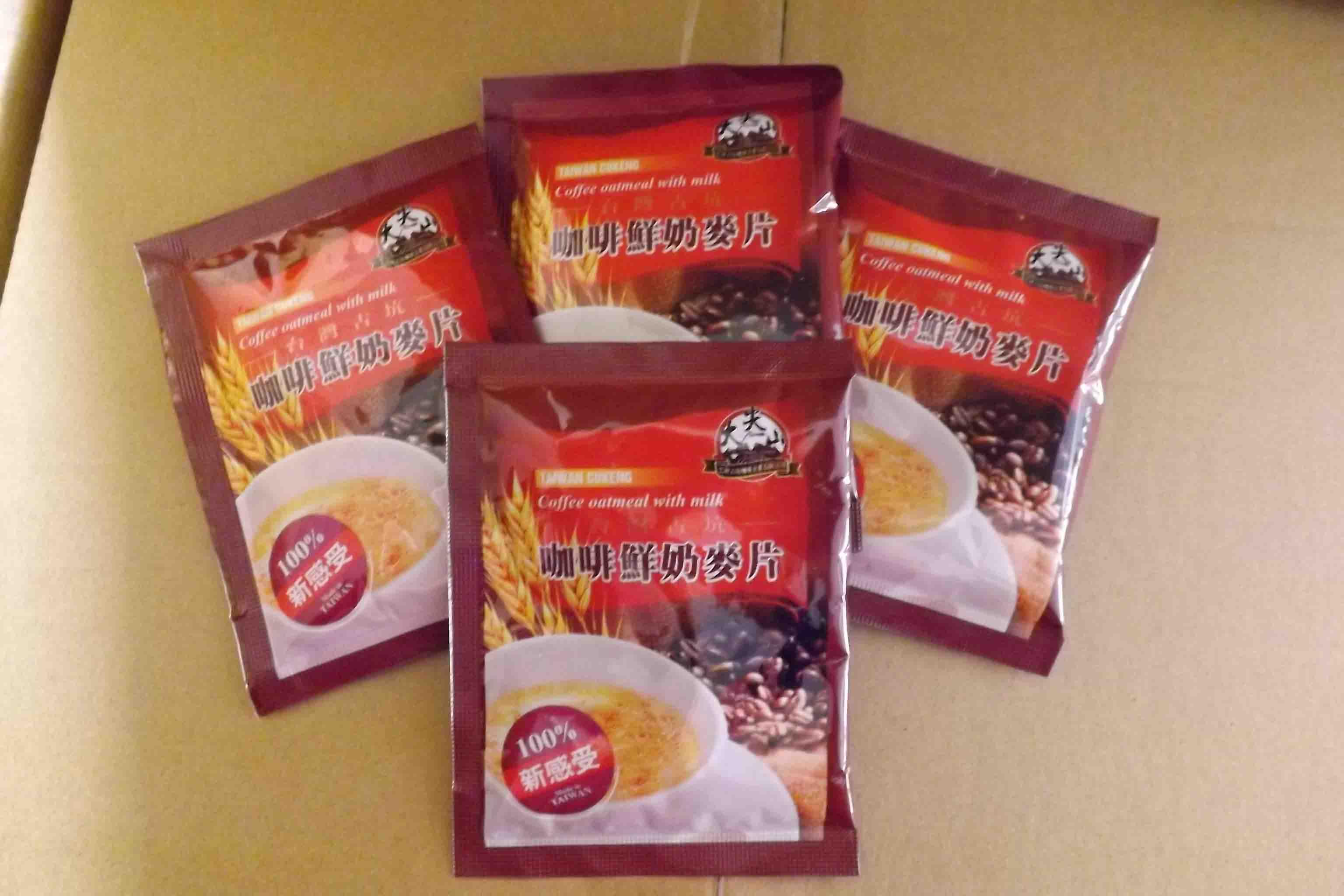 【TGC】台灣咖啡鮮奶麥片量販60入裝