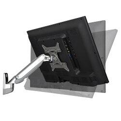 【NB】F200 19~42吋液晶螢幕 氣壓型萬向液晶螢幕架-單臂單節 高強度航空鋁材
