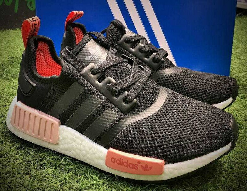 Adidas Originals NMD Boost R1 W 黑粉 女款