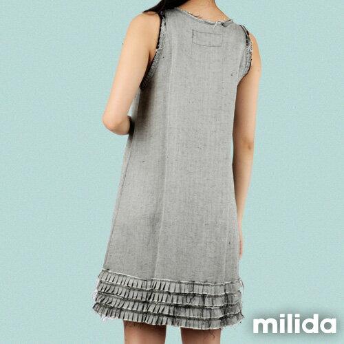 【Milida,全店七折免運】-早春商品-無袖款-氣質嚴選洋裝 1