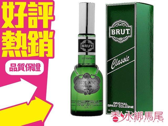 Brut The Essence Of men Cologne 酒瓶經典 古龍水 88ML◐香水綁馬尾◐