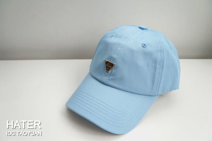 ►法西歐_桃園◄ HATer Classic Logo Low Profile Cap 彎帽 童帽 布帽 淺藍 藍