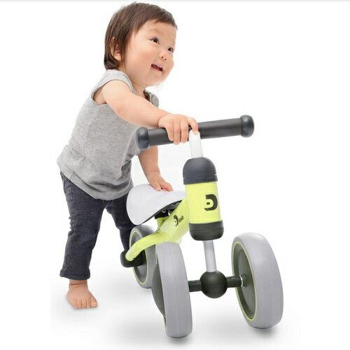 寶寶滑步平衡車-黃/ YELLOW / D-bike mini/ 學步車/ IDES/ 伯寶行