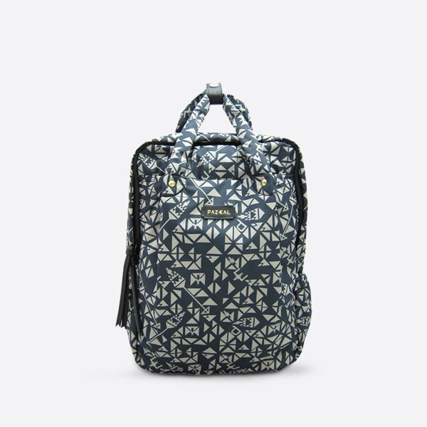 PAZEAL / Puffy Backpack 後背包 (middle / 中 / 藍絲絨) 尺寸 25L*14.5W*36.5H C