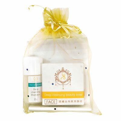 NANOSI銀河矽-旅行輕巧包(美顏皂25g+美體皂25g+洗髮乳20ml)
