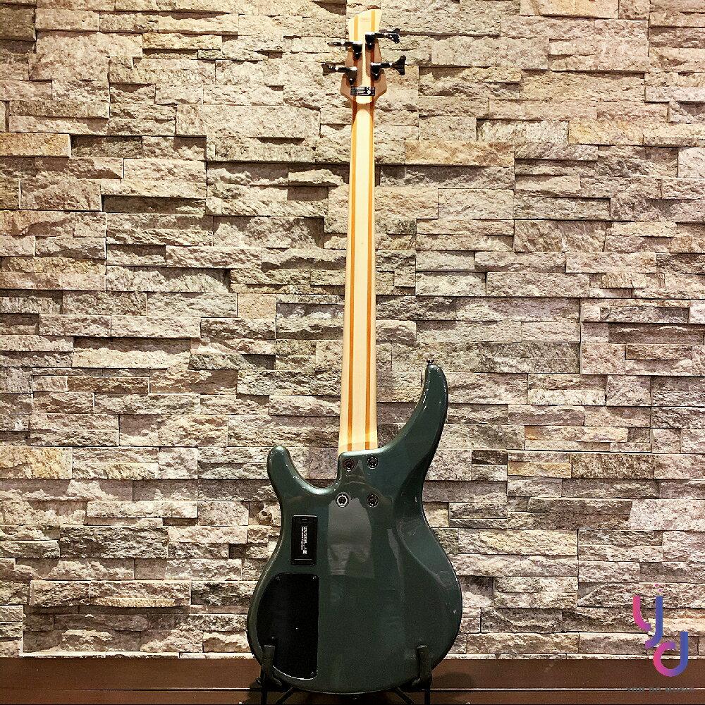 分期免運 贈千元配件 公司貨 YAMAHA TRBX 304 灰綠色 電 貝斯 Bass 主動式 拾音器 cp值
