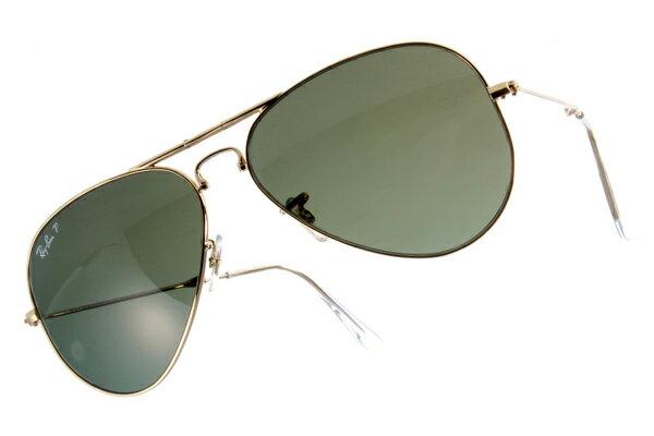 Ray Ban 雷朋 金邊綠鏡 折疊太陽眼鏡 RB3479 2