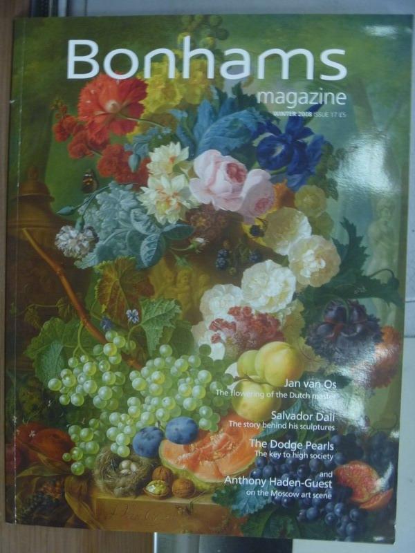 【書寶二手書T7/收藏_QMU】Bonhams magazine_2008 winter