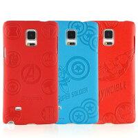 美國隊長周邊商品推薦【MARVEL】Samsung Galaxy Note 4 高質感皮革壓紋背蓋保護殼