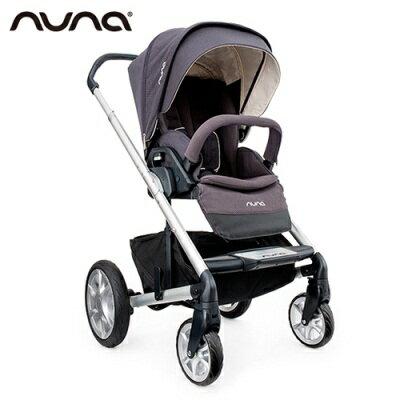 Nuna mixx三合一雙向嬰幼兒手推車-灰紫