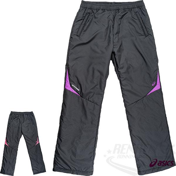 Mizuno美津濃女背部保暖平織長褲(黑紫)2015年新款
