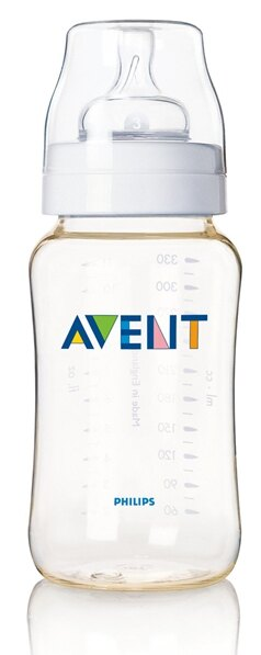 PHILIPS Avent 新安怡 PES防脹氣奶瓶~330ml 單入 ^(寬口徑^)