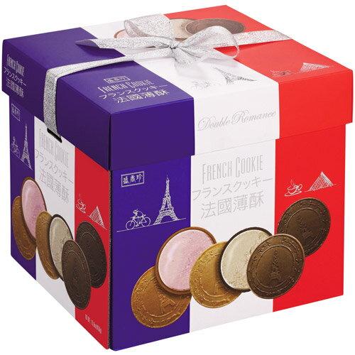 《盛香珍》法國酥禮盒 450g (盒)-緞帶為提把